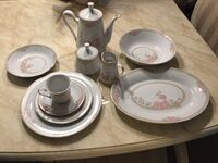 Crown Ming China. Service for 12.