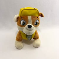 "Paw Patrol Real Talking 10"" Rubble Plush Centreville, 20120"