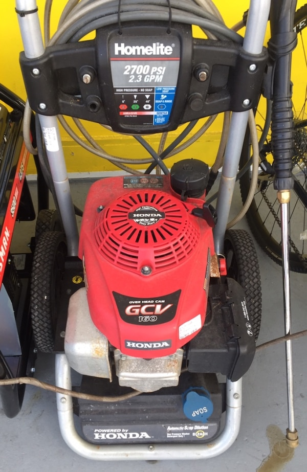 Homelite 2700psi Pressure Washer 0