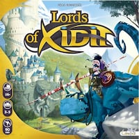 Board game: Lords of Xidit (brand new) Edmonton