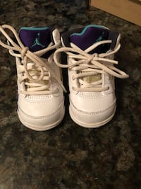 First pair of Jordan's for your little one  Coquitlam, V3K 4A4