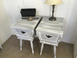 End tables or nightstands