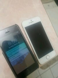 two space gray and gold iPhone 5s's Toronto, M6M 5C3