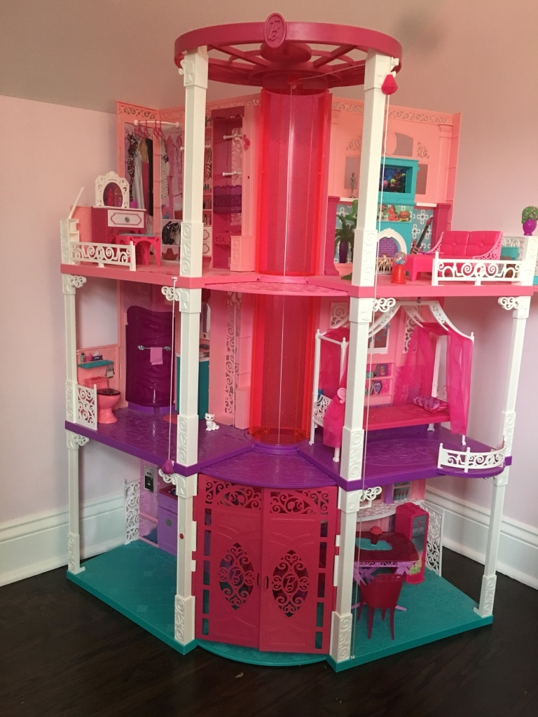 used barbie dream house with elevator for sale in florham park letgo rh gb letgo com