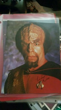 Star Trek signed picture Alexandria, 22301