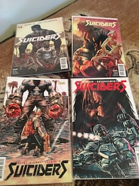 Suiciders #1-4 comic books  Langley, V2Y 1B5