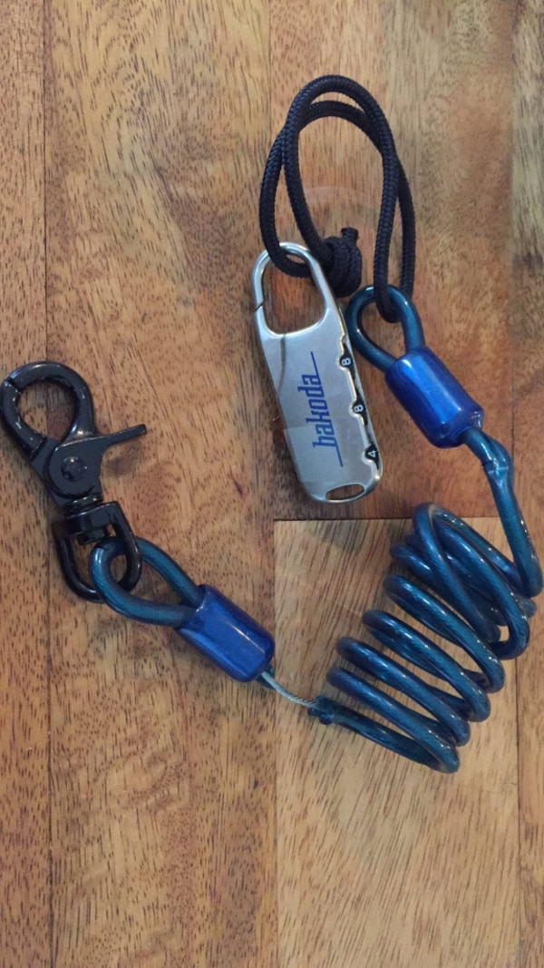 lock (previously used for my snowboard)