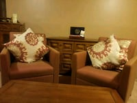 Burnt Sienna matching chairs with pillows included Bowie, 20721