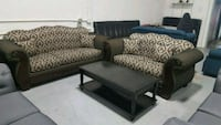 two black-and-gray sofa set Calgary, T3J 0C3