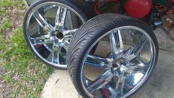 Used 24 Inch Rims For Sale In Tallahassee Letgo