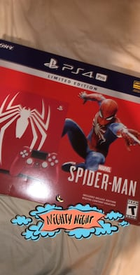 Spider-Man Edition PS4 Pro - With Game Clemson, 29631