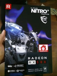 Nitro+ Rx580 8Gb + [TL_HIDDEN] 45 Greater London, IG2 6FG