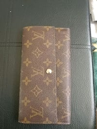 brown monogrammed Louis Vuitton leather wallet Edmonton, T6K 3M8