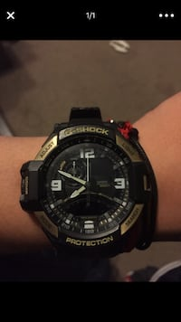 round black Casio G-Shock digital watch Albuquerque, 87121
