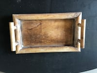 Wooden Platter/Serving Tray Concord, 94520
