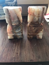 Marble bookends  Olney, 20832