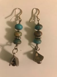 aqua earrings Elizabeth, 07201