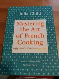 Cookbook: mastering the art of french cooking Guelph, N1G 2L6