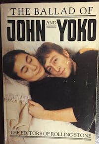 Ballad of John & Yoko Soft Back Book Lebanon