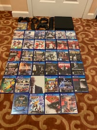PS4 with games