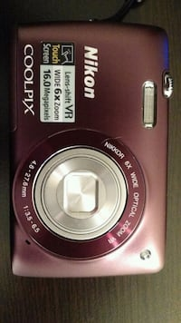 Nikon Coolpix camera with memory card Tysons, 22102