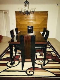 beautiful luxury dining room, fine wood with 6 chairs excellent opportunity Las Vegas, 89106