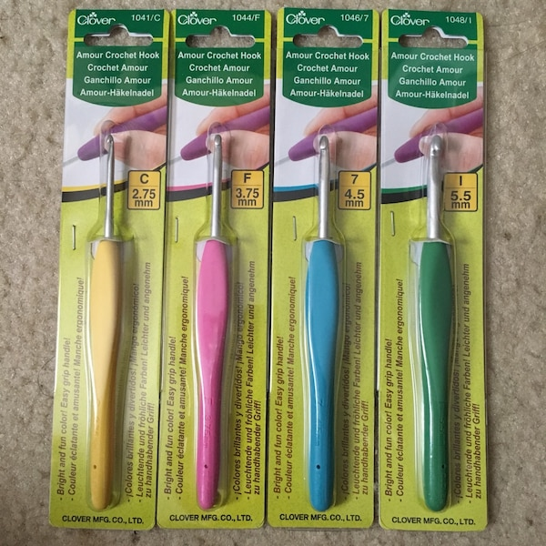 Used Clover Amour Crochet Hooks For Sale In New York Letgo