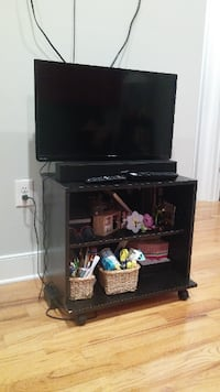 TV stand cabinet with wheels PHILADELPHIA