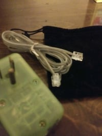 BRAND NEW household phone adapter!! lime green!!