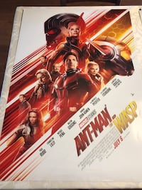 Double sided movie poster - Antman and the Wasp Langley, V1M 2K9