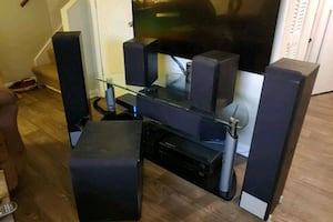 Infinity 5.1 Speakers and Onkyo Receiver