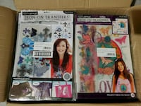 4 Next Style Iron-On Transfers (3 Piece) Value Packs Newmarket, L3X 3K6