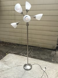 Modern lamp. 5 way.. opened and out together out of the box but decided to go with a different style. New! Portland, 97202