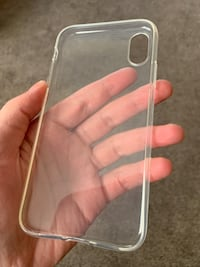 **NEW** iPhone XR Clear Flexible Case
