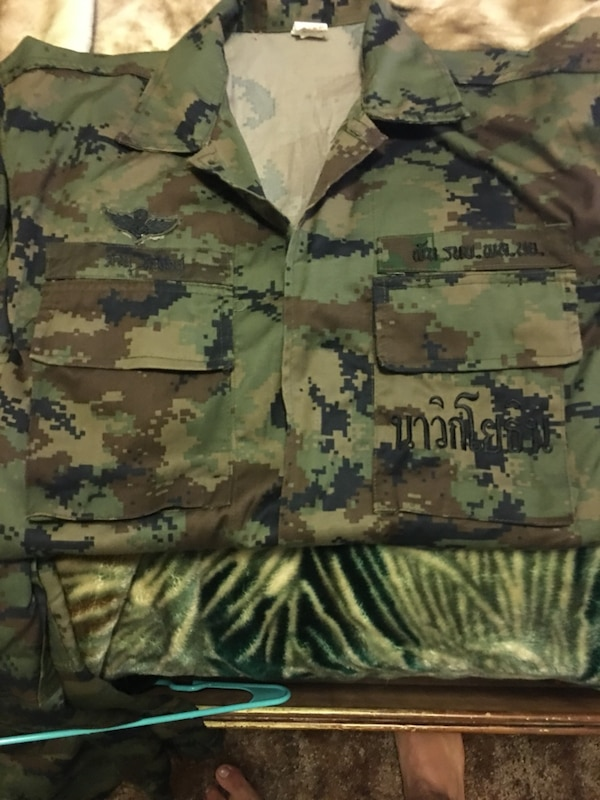 Thai marine cammies from Thailand