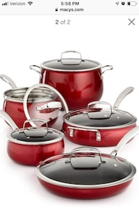 New 11 pc cookware