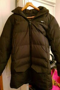 svart zip-up jakke 5938 km