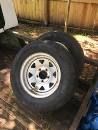 Two spare tires. Mobile, 36605