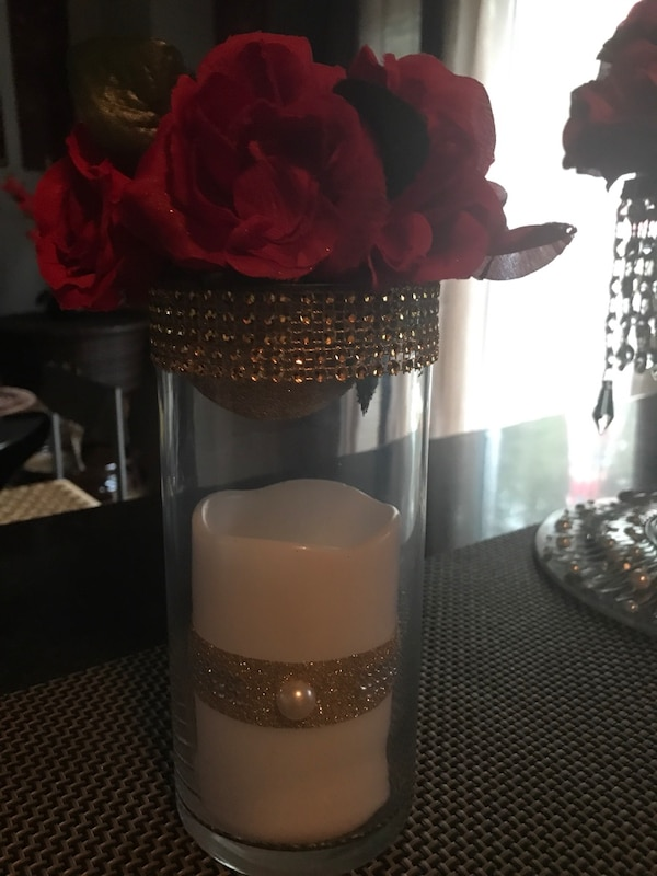 Rose ball candlelight