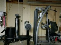 black and gray exercise equipment Moreno Valley, 92557
