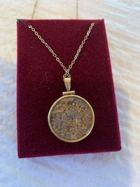 Alaskan gold necklace  Healy