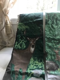 Two forest scene shower curtains or could be used for bedroom. Clarksburg, 20871