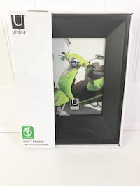 """UMBRA 5x7"""" Wooden Modern Picture Photo Frame"""
