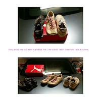 3 casual shoes, all is less than 3yrs old.  Bakersfield, 93301