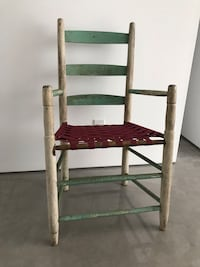 Folk art chair from the 60's