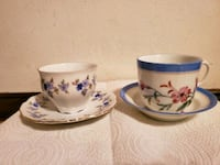 Vintage Tea Cups with Saucers  Deltona