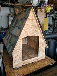 Dog House for a small dog .Made with TLC.