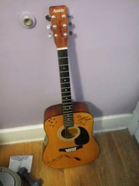 brown and black dreadnought acoustic guitar Schenectady, 12308