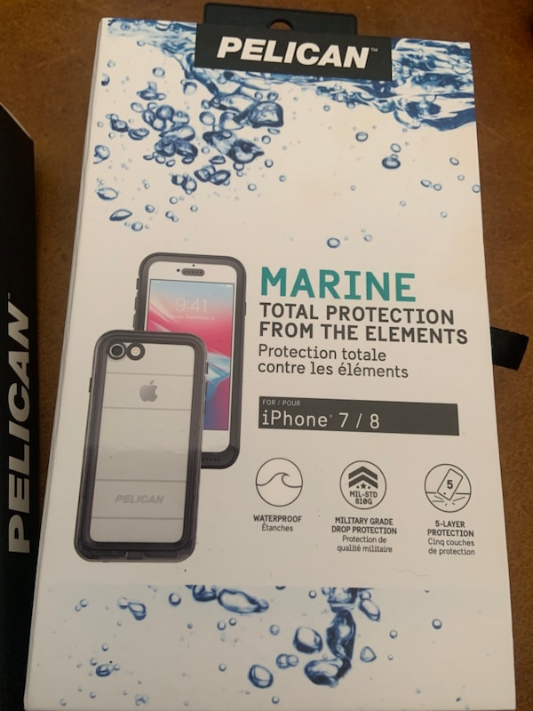 size 40 137ab 1890e iPhone 7/8 case - Pelican Marine case - full protection.