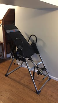 black and gray inversion table Alexandria, 22306